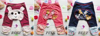 Weilin Baby Kid Boy Girl Casual Cartoon BÄR Winnie Pattern Harem Hosen Hose