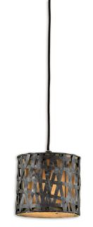 Contemporary Metal Shade Pendant Light Mini Hanging Chandelier Lighting Fixture