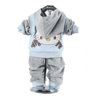 Cute Baby Girl Winter Fall Autumn Outfits Set Suit Hoody Coat Outerwear Clothes