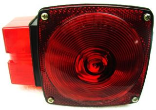 LH Roadside Submersible Tail Light Utility Enclose Boat Trailer Taillight LE1