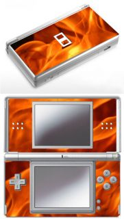 Nintendo DS Lite True Fire Flames Skin Cool Looking Flames OCC Style Dslflame