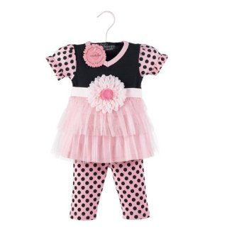 Baby Girls Little Princess Dress Tunic Leggings Outfit