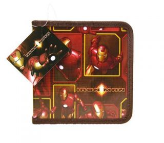 Marvel Iron Man 24 CD DVD Organizer Storage Case Holder
