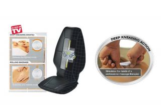 Shiatsu Massaging Cushion Pro Therapist 200 Deluxe Shiatsu Massage Cushion