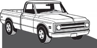71 93 Chevy GMC Pickup Brake Dust Covers