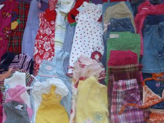 2T Baby Girl Clothes Lot 33 Pieces Spring Summer Outfits Dresses Swimwear