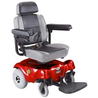 CTM HS 1000 Rear Wheel Drive Power Chair Red