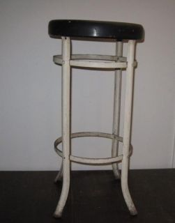 Vintage Industrial Modern Machine Age Drafting Stool Studio Loft Chair Eames Era