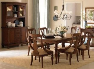 American Drew Furniture Fulton County Farmhouse Table Chairs Dining Set