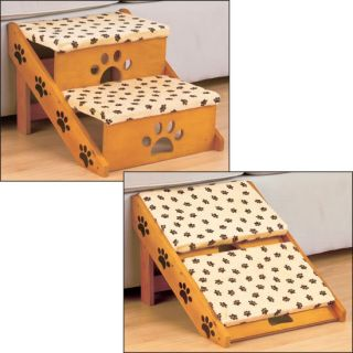 New Convertible Pet Dog Puppy Cat Stairs Ramp Bed Couch