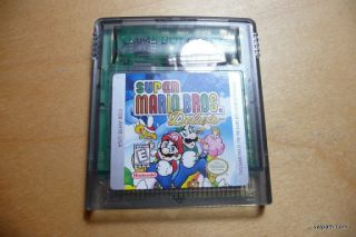 Ninetendo Super Mario Bros Deluxe Game Boy Color
