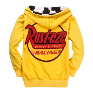 Hot New Cars Lightning McQueen Kids Boys Girls Funny Hoodies Clothing 2 8years