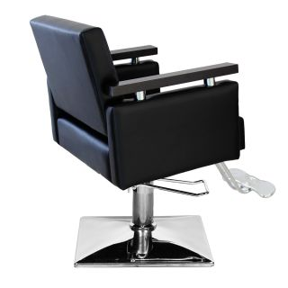 New Black Hydraulic Barber Chair Styling Salon Beauty Equipment Spa Funiture