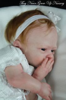 Tngun Master Artist Reborn Doll Prototype Mikki 1 by Marita Winters Sweet Girl