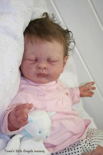 Reborn Baby Doll Girl Lucy by Tina Kewy Big Chubby Baby