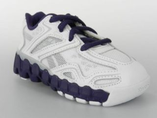 Reebok Minizig Sonic Zigs Zig New Toddlers Infant Baby Girls Shoes White Purple