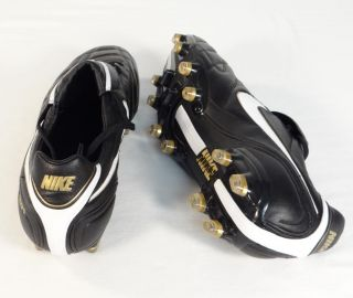 Nike Tiempo Legend III Firm Ground Leather Soccer Cleats Black Mens New