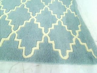 Safavieh CHT721B Chatham Wool Handmade Area Rug 3 ft by 5 ft Blue and Ivory