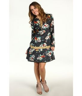 Johnny Was Lace up Drop Waist Dress $146.99 ( 45% off MSRP $268.00)