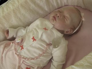 ANA's Dream Dolls Super Cute Reborn Baby Girl Aimee Rose