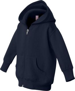 Rabbit Skins Infant Baby Boys Girls Hooded Zip Sweatshirt Hoodie 3446