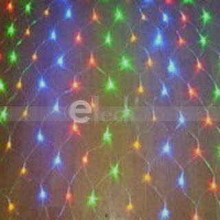 Mix Color 120LED Net Light Party String Light Xmas Deco