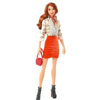 Barbie All Dolled Up Stardoll Red Hair Mix Match Fashion Clothes Coral Dress 746775038076