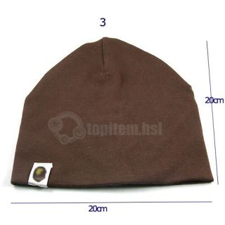 Cotton Hats Kids Baby Toddler Infant Boys Girls Ski Cap