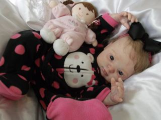 Precious Reborn Baby Girl Molly The Newly Released Kit Kimber by Donna RuBert