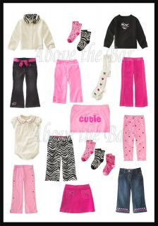 Gymboree Wild One Baby Toddler Kid Girl U Pick Style Size