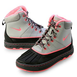 Nike Woodside GG GS Youth Size 6 5 Black Grey Pink Hiking Boot Shoes