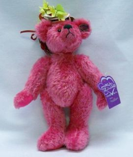 Gorgeous Deep Pink Mohair Annette Funicello Teddy Bear Rasbeary Fully Jointed
