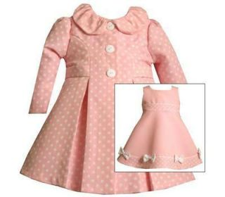Bonnie Jean Easter Dress Coat Size 0 3 Months Baby Girls Infant Clothing