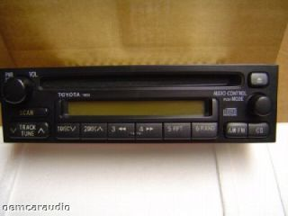 96 97 98 99 2000 01 Toyota Corolla RAV4 Radio CD Player