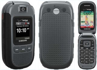 Excellent Condition Verizon Samsung U640 Convoy Flip Rugged Camera Phone
