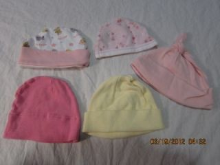 Newborn Preemie Infant Baby Girl Outfit Dress Pants Hat Skirt Onsies Clothes Lot