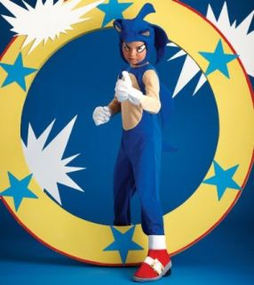 Sonic The Hedgehog Knuckles The Echida Child Costume Boy Girl Kids New