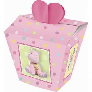Teeny Tiny Girl Favor Boxes 24ct Baby Shower Supplies