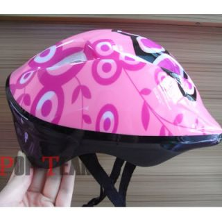 Kids Children Skating Helmets Skateboard Bicycle Bike Cycling Pink JF5P