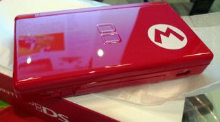 Nintendo DS Lite Super Mario Bros Limited Edition Red Handheld System