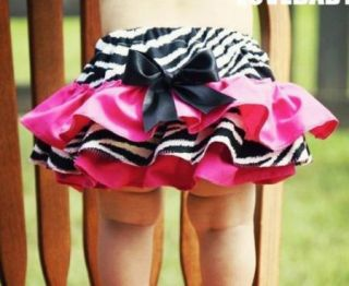 Girl Baby Clothing Ruffle Pants S0 4Y New Bloomers Nappy Skirt