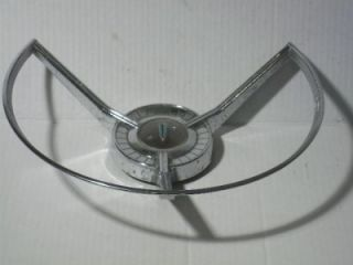 Vintage 1959 Ford Edsel Ranger Steering Wheel Horn Ring w Center Cap No 2701133