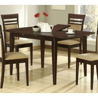 Monarch Specialties 48x36 Dining Table w 12 inch Butterfly Leaf