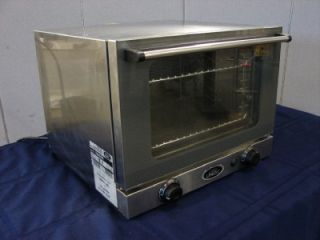 Cadco OV250 Quarter Size Countertop Electric Convection Oven