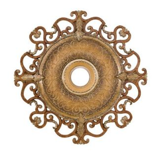 Minka Aire Napoli 38 Ceiling Medallion in Tuscan Patina