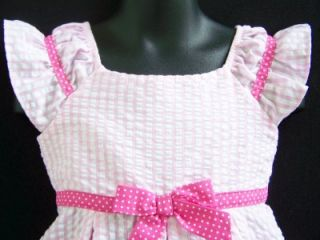 "New Baby Girls ""Pink Cupcake Ruffle"" Size 12M Dress Clothes Birthday"