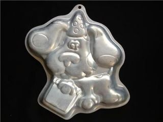 1999 Blues Clues Wilton Birthday Cake Pan Mold Insert 3060 Blue's Notebook