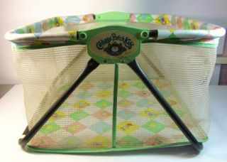 Vintage Cabbage Patch Kids Doll Playpen 1984