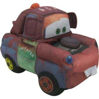 Disney Cars Laugh Out Loud Mater Talking Tow Truck Soft Stuffed Plush 35 Phrases