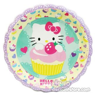 Hello Kitty Party Supply Paper Plate Small